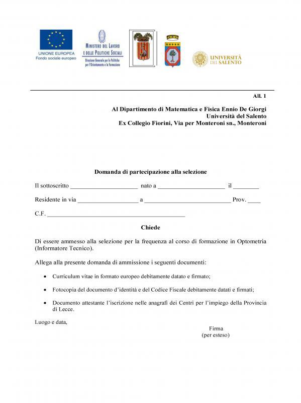 Calendario Accademico Unisalento.Universita Del Salento Dipartimento Lingue E Letterature