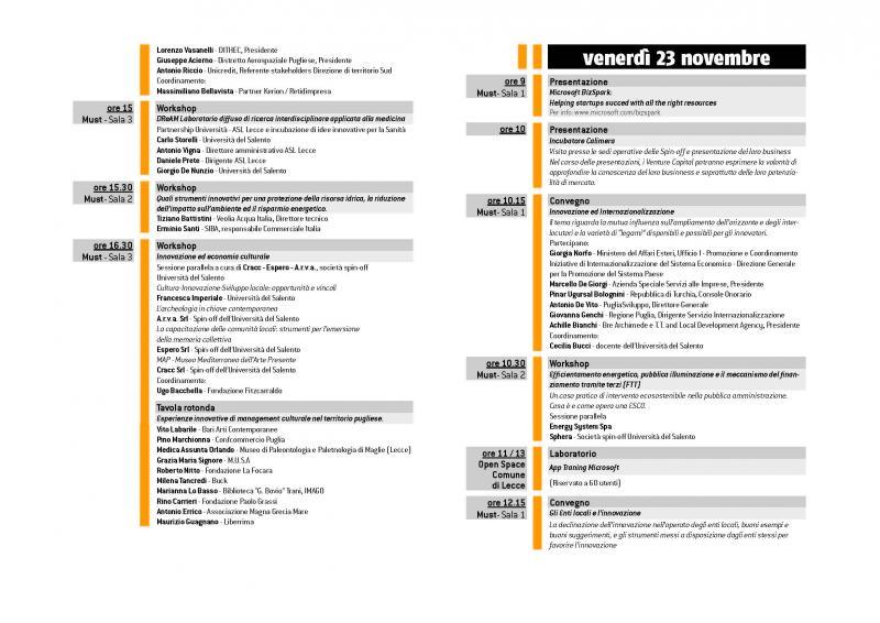Calendario Accademico Unisalento.Universita Del Salento Padiglione Prof Angelo Rizzo